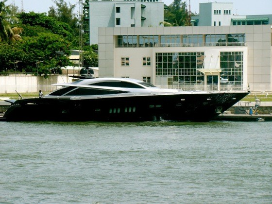 Aliko Dangote's Yacht