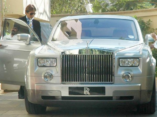 Amitabh and his Rolls Royce