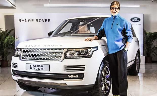 Amitabh's Range Rover