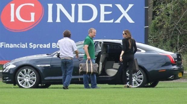 Angelina's Jaguar XJ