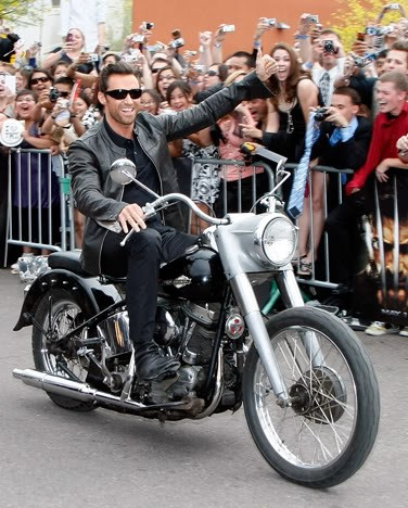Hugh Michael Jackman Bike