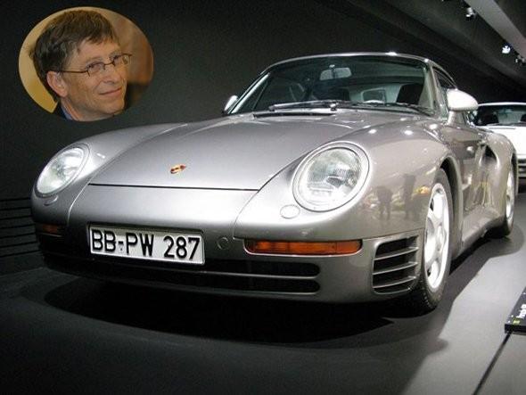 Bill Gates Porsche