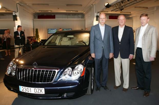 Dieter Zetsche's Car