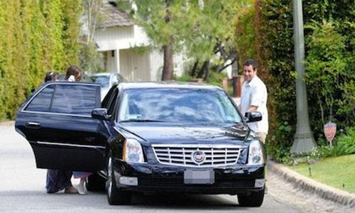 Adam Sandler's Cadillac DTS