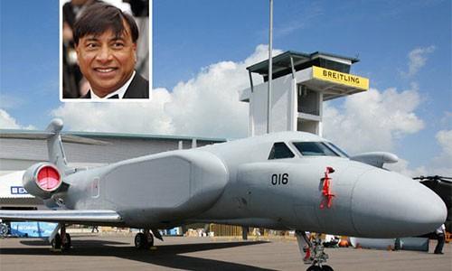 Lakshmi Mittal Jet