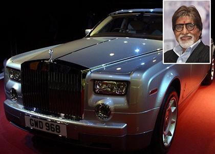 Amitabh Bachchan's Car
