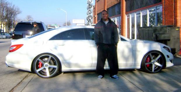 Ray Rice Car