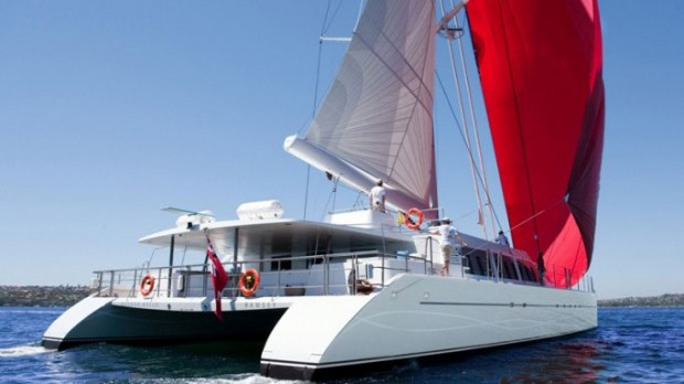 Richard Branson Yacht