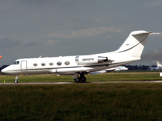 Phil Mickelson Jet