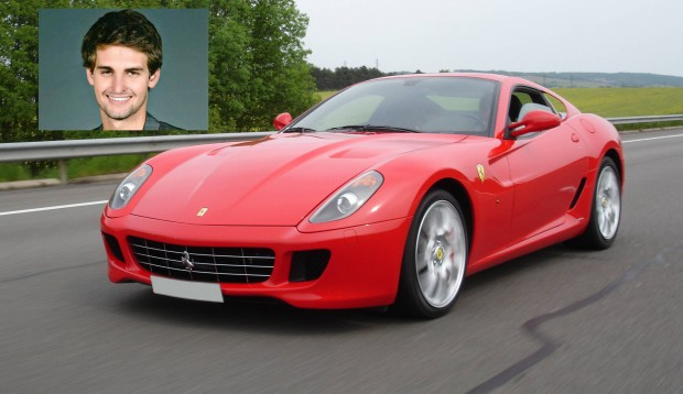 Evan Spiegel Auto