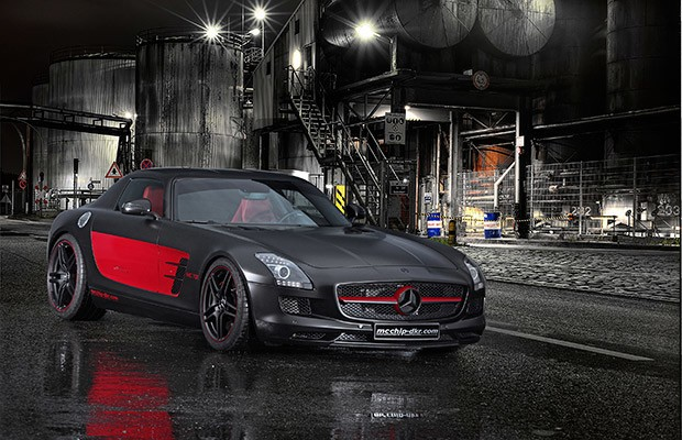 Derrick Rose's Mercedes