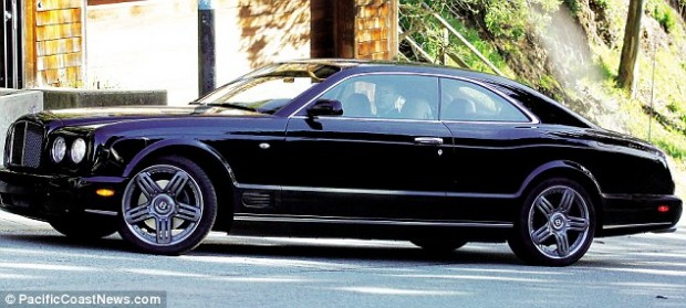 Jonathan Ive Bentley Car