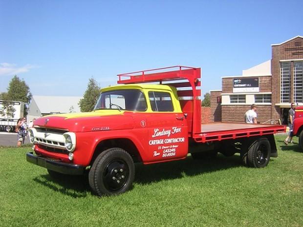 Linsday Fox Truck