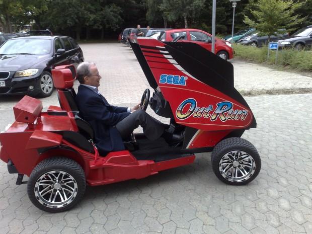 Kjeld Kirk Kristiansen  Drives OutRun