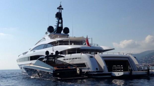 Nassef Sawiris  Yacht