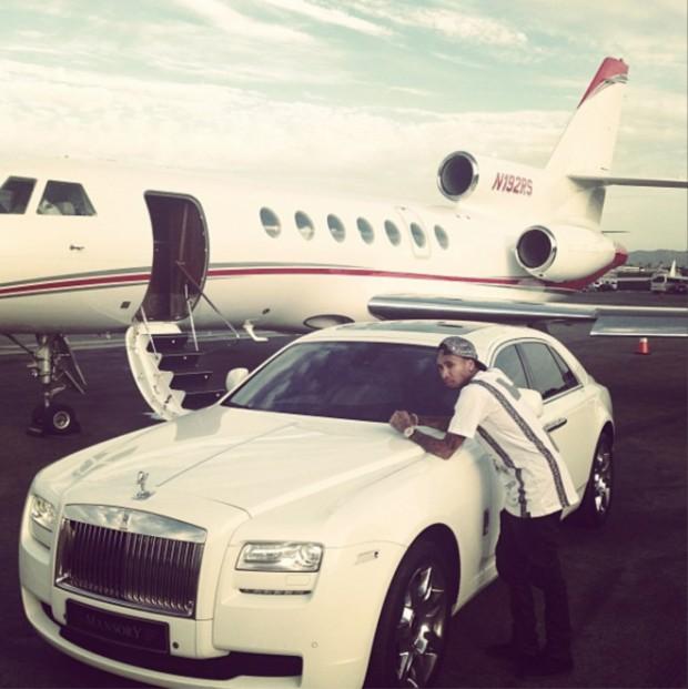 Tyga's Rolls Royce Phantom