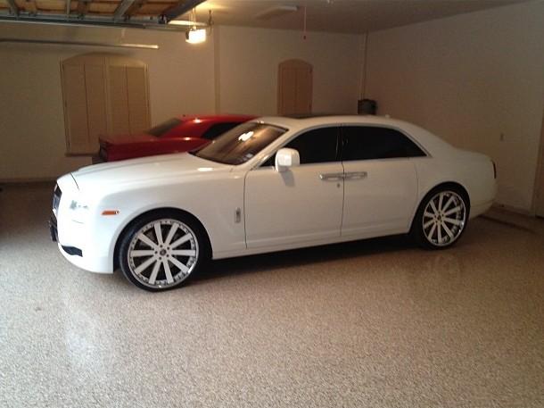 LaMarcus Aldridge Rolls Royce Ghost