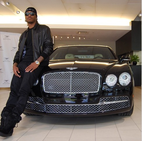 Future (rapper) With New Bentley