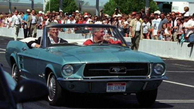 Bill Clinton 1967 Ford Mustang Car