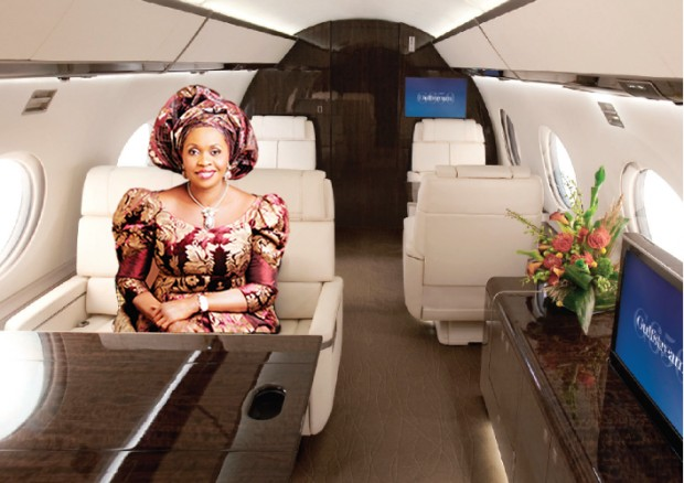 Folorunsho Alakija At His Private Jet