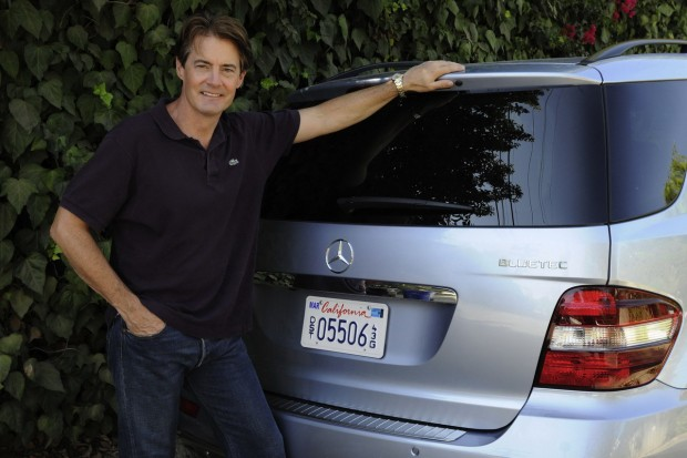 Kyle MacLachlan With His Mercedes-Benz BlueTEC