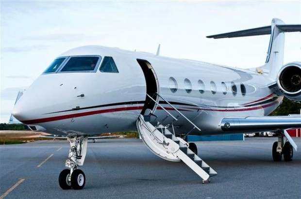 Bill Ackman's G550 Private Jet