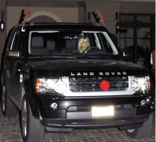 Reese Witherspoon's Land Rover