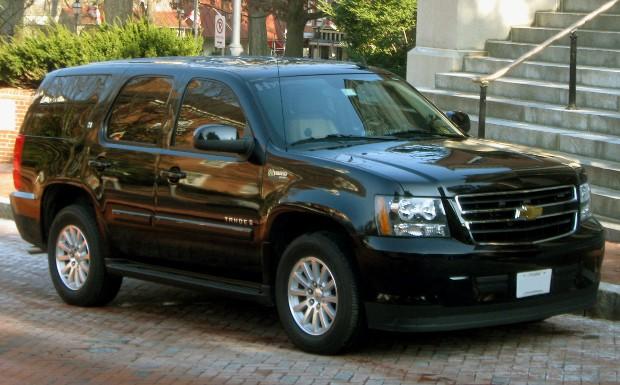 Aubrey McClendon Car  Chevy Tahoe