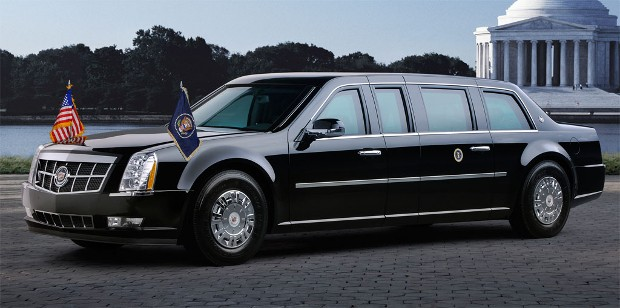 Mitchelle Obama Car Cadillac Limousine