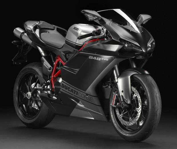 Prince Harry Bike Ducati 848