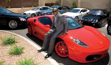 Floyd Mayweather's Lamborghini