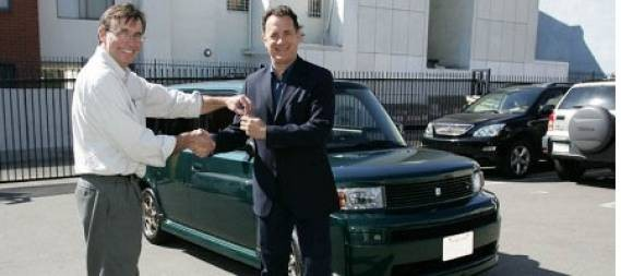 Tom Hanks E-Box electric car