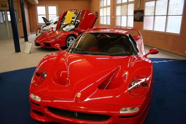 Linsday Fox Ferrari