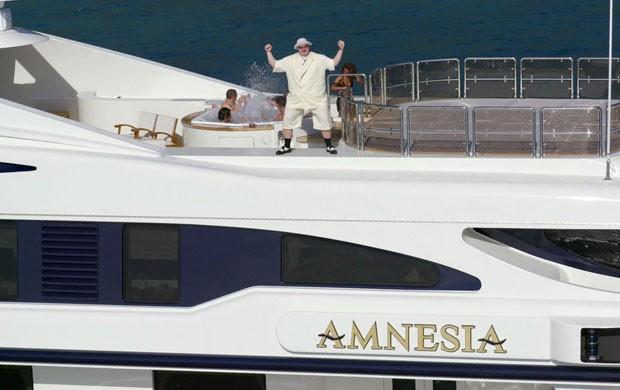 Kim Dotcom Yacht