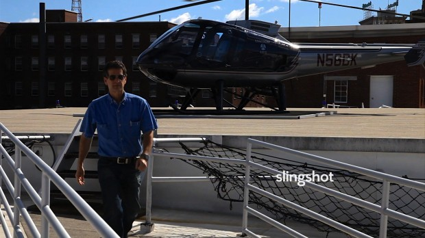 Dean Kamen private Helicopter