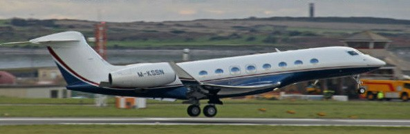 Onsi Sawiris Gulfstream G650 Private Jet