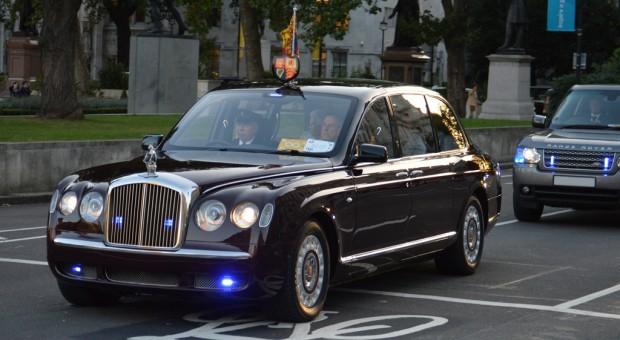 Queen Elizabeth II Bentley State Limousine