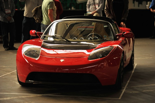 Mitt Romneys The Tesla Roadster