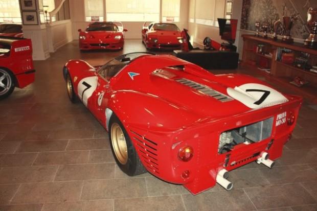 Lawrence Stroll Ferrari P4