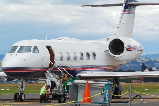 Roger Penske's Private Jet