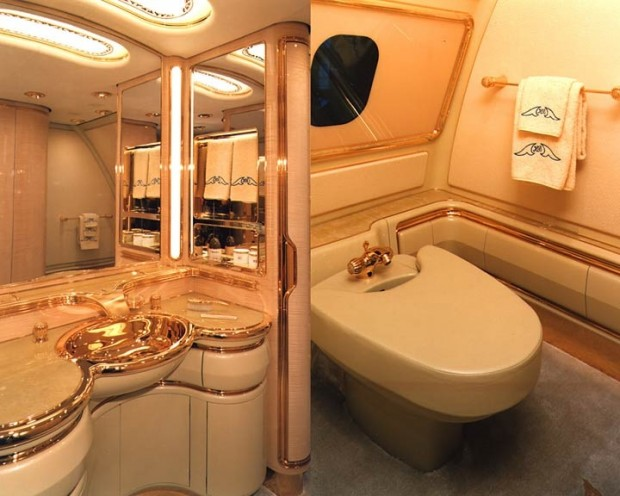 Washroom In Plane