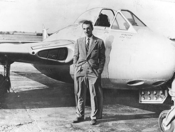 J.R.D. Tata with His Aircraft