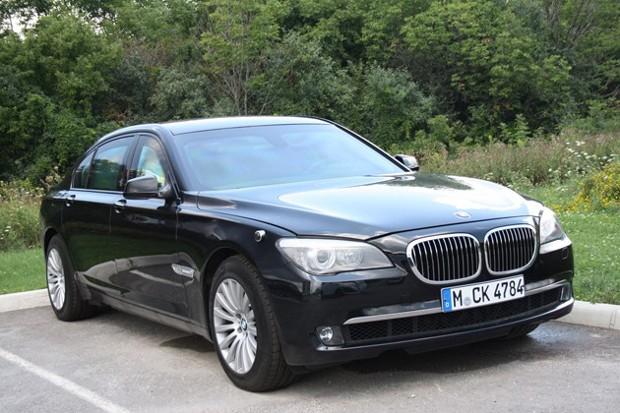 Kumar Mangalam Birla BMW 760Li