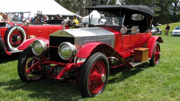 Vijay Mallya Rolls Royce 1913 Silver Ghost