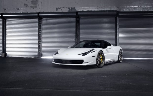 David Washington Car Ferrari 458 Italia