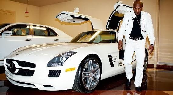 Floyd Mayweather's Merceds-Benz