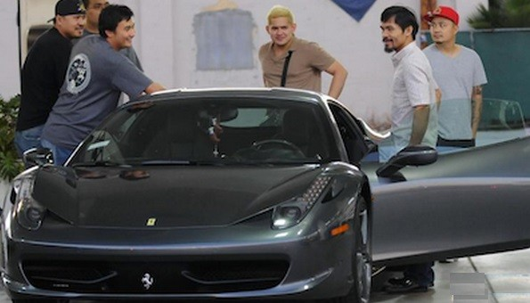 Manny Pacquiao Auto
