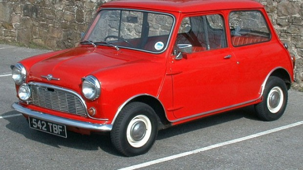 Richard Branson's First Car 1968 British Morris Mini-Minor