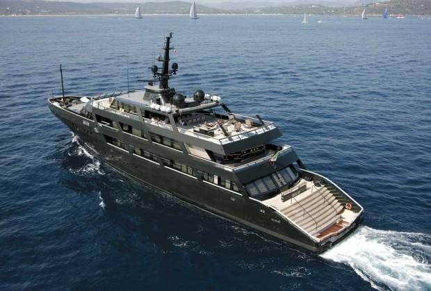 Armani's Yacht
