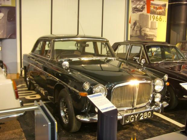 Queen Elizabeth II Personal Car Rover P5B